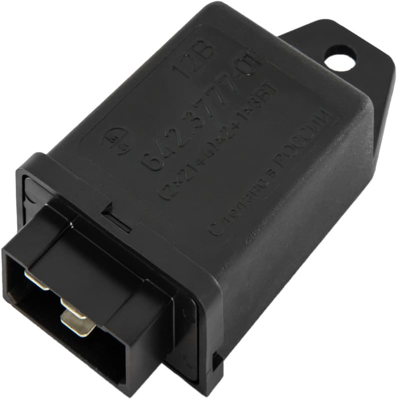 """...реле-прерыватель тока указателей поворота и аварийной сигнализации; применяемость: ГАЗ 31105,  """"Газель """" ."""